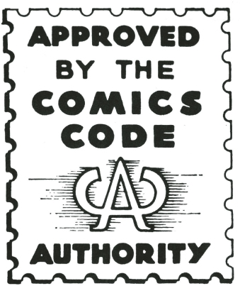 Image result for comics code authority