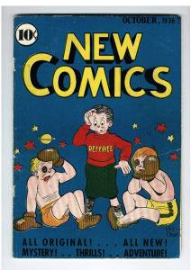 New Comics OCT